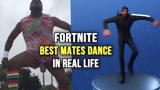 """Fortnite Dance """"melhores companheiros"""" na vida REAL! (Vídeo original 2018) 👍"""