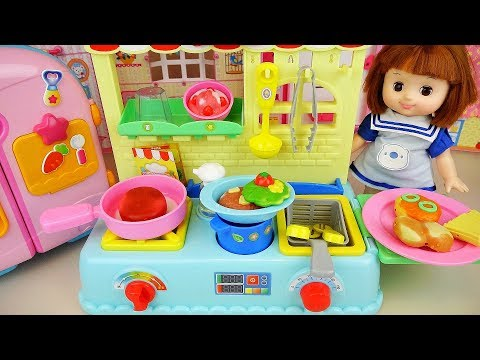 Baby Doll food cooking toys kitchen Baby Doli play