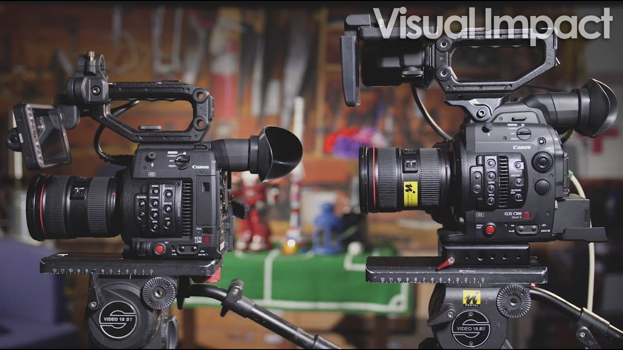 Canon C200 Hands-On Review and C300 II Features Comparison