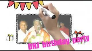 DNJ BIRTHDAY PARTY BY MY SWEET FRIEND