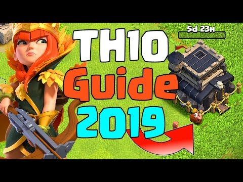 TH10 UPGRADE GUIDE PRIORITY LIST 2019 | CLASH OF CLANS