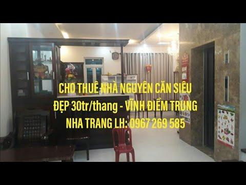 cho thuê nhà nguyên căn siêu đẹp Vĩnh Trung – Nha Trang