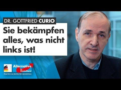 Sie bekämpfen alles, was nicht links ist! - Dr. Gottfried Curio - AfD-Fraktion im Bundestag