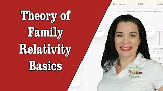 MyHeritage Theory of Family Relativity - The basics of this new DNA research tool