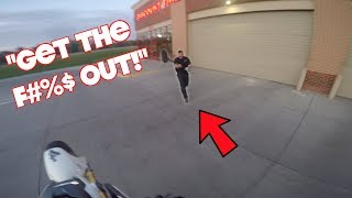 Grom Ventures Ep. 28 - Angry Man Tries to Hit Me With A Broom!