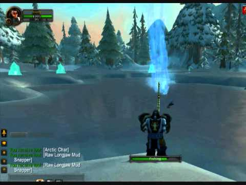 WoW - Cold Water Fishing (Ironforge Daily Fishing Quest)