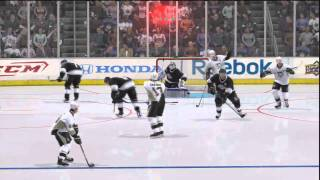 NHL 11 Gameplay (PS3) - Pittsburgh Penguins vs Los Angeles Kings