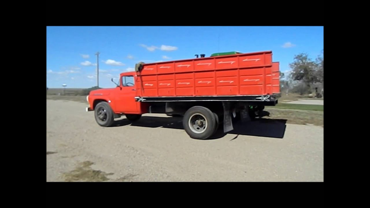 1958 Ford F600 grain truck for sale | sold at auction December 30 ...