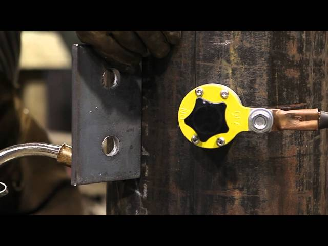 600 Amp Welding Ground Clamp - Magswitch Technology