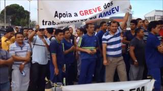 AMBEV MANAUS - Trabalhadores entram em GREVE - parte 5