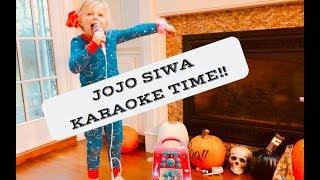JOJO SIWA CD + G KARAOKE MACHINE REVIEW | FAMILY VLOG