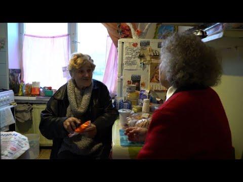 AFP news agency: 'Angel', 80, drives to aid of poor St Petersburg pensioners