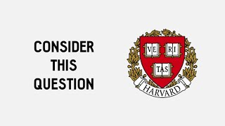 The simple riddle that 50% of Harvard students get wrong