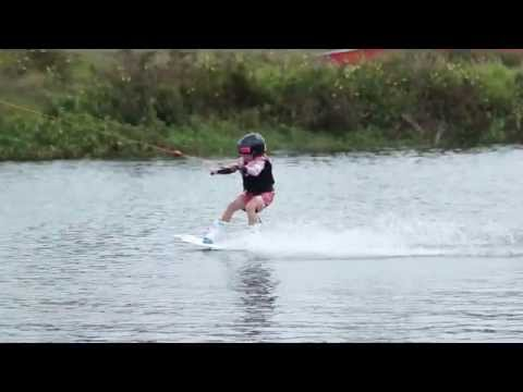 6yr Old Layla Jordan at McCormick's Cable Park