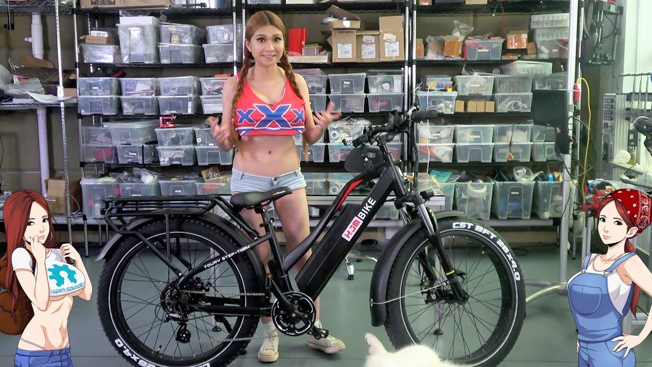 HJM All Terrain Electric Fat Bike- Husky Test Drive and Review!