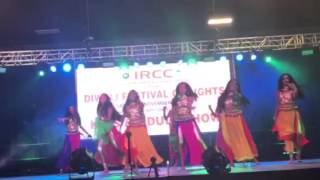 Anushka dancing at IRCC 2016