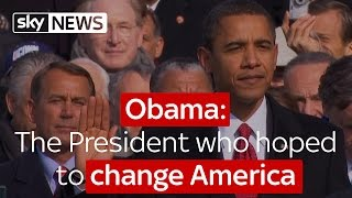 Obama: The President who hoped to change America