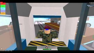 Driving LRT SMRT train at roblox part 2