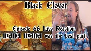 Black Clover Episode 66 Live Reaction. MADA MADA was the best part