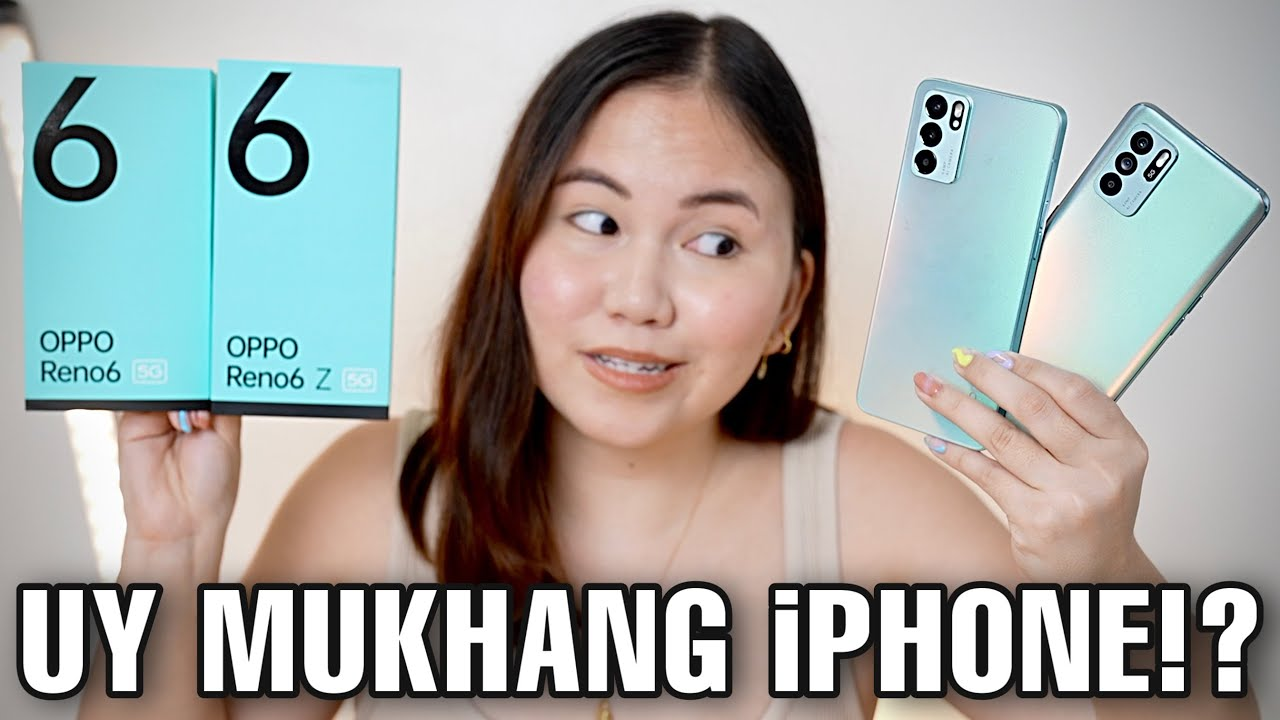 OPPO RENO6 5G & RENO6 Z 5G UNBOXING & FIRST IMPRESSIONS