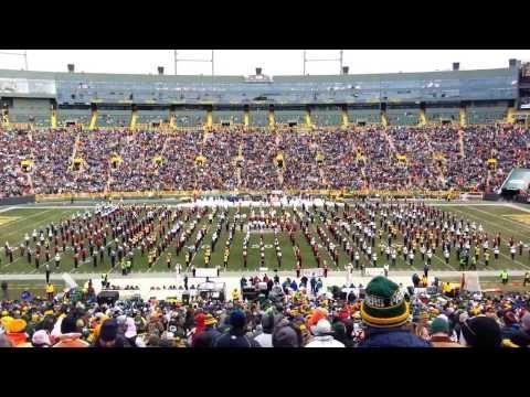 FVA-South Combined Marching Band at Lambeau Field - Nov. 24, 2013