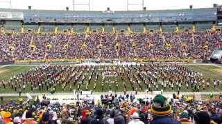 FVA-South Combined Marching Band at Lambeau Field - Nov. 24, 2013