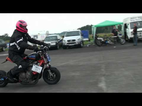 Honda Monkey With 600 Ccm Test Schwesing August 2012
