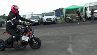 Repeat youtube video Honda Monkey with 600 ccm Test Schwesing August 2012