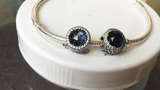 Pandora charm - Radiant moonlight blue