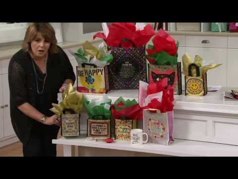 Natural Life 8 Piece All Occasion Reusable Gift Bags on QVC