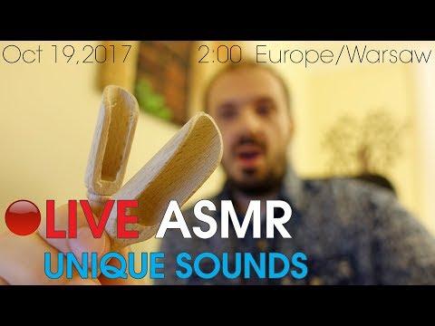 🔴 LIVE ASMR UNIQUE SOUNDS [HQ]