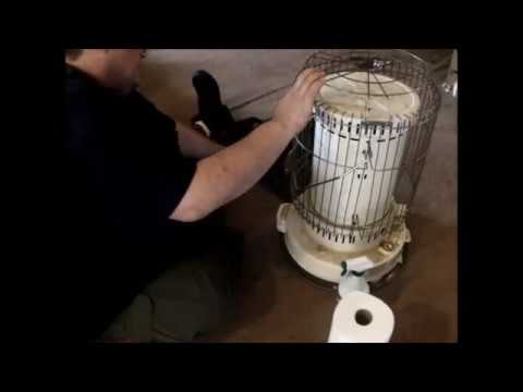 Maintaining/Changing WICK - DynaGlow RMC 95 Kerosene Heater