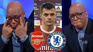 "Arsenal vs Chelsea 3-1 Amazing Win! Ian Wright ""Cry"" Analysis Granit Xhaka On Fire Reaction"