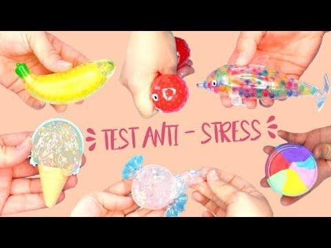 JE TESTE DES SLIMES ET SQUISHY ORIGINAUX ! ANTI - STRESS ORBEEZ TROP FUN┃Reva ytb