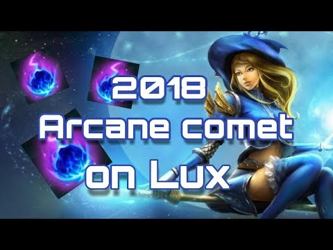 [LEAGUE OF LEGENDS] : WHY ARCANE COMET IS IMPORTANT ON LUX
