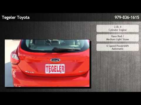 2012 Ford Focus Hatchback Sel Burton Youtube