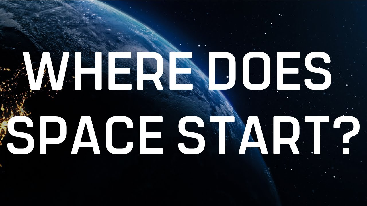 Where does space start? A guide to the atmosphere