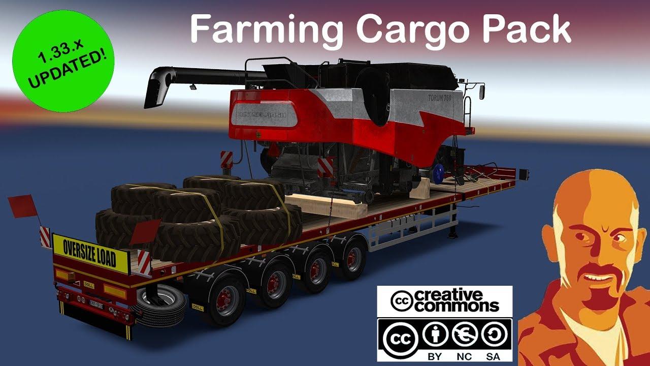 FARMING CARGO PACK ETS2 1 33 x ALL DLC & OLDER VERSIONS