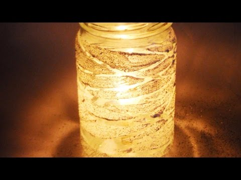 How To Make a Funky Jar Candle Holder - DIY Home Tutorial - Guidecentral