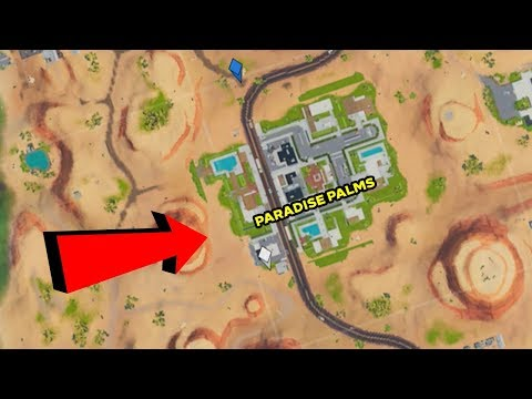 Why The Location Names In Fortnite Are Yellow! [Fortnite Hotspots]