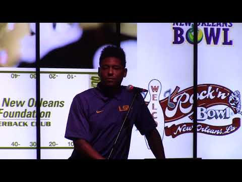 Skyler Green talks LSU at GNOSF QB Club