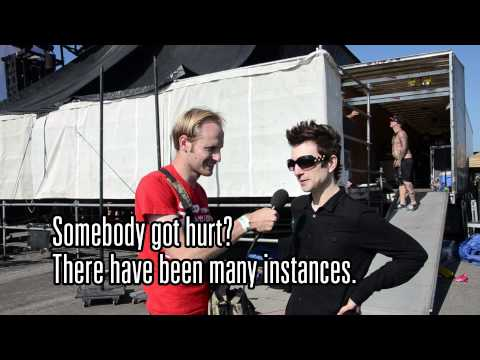 Interview with Justin Sane of Anti-Flag at Warped Tour 2012 by The Scene Report