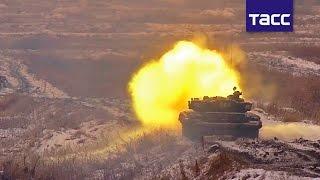Экипажи воссозданной 90 й танковой дивизии впервые начали подготовку к биатлону