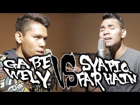 Gabe Wely Ajar Syafiq Farhain Menyanyi