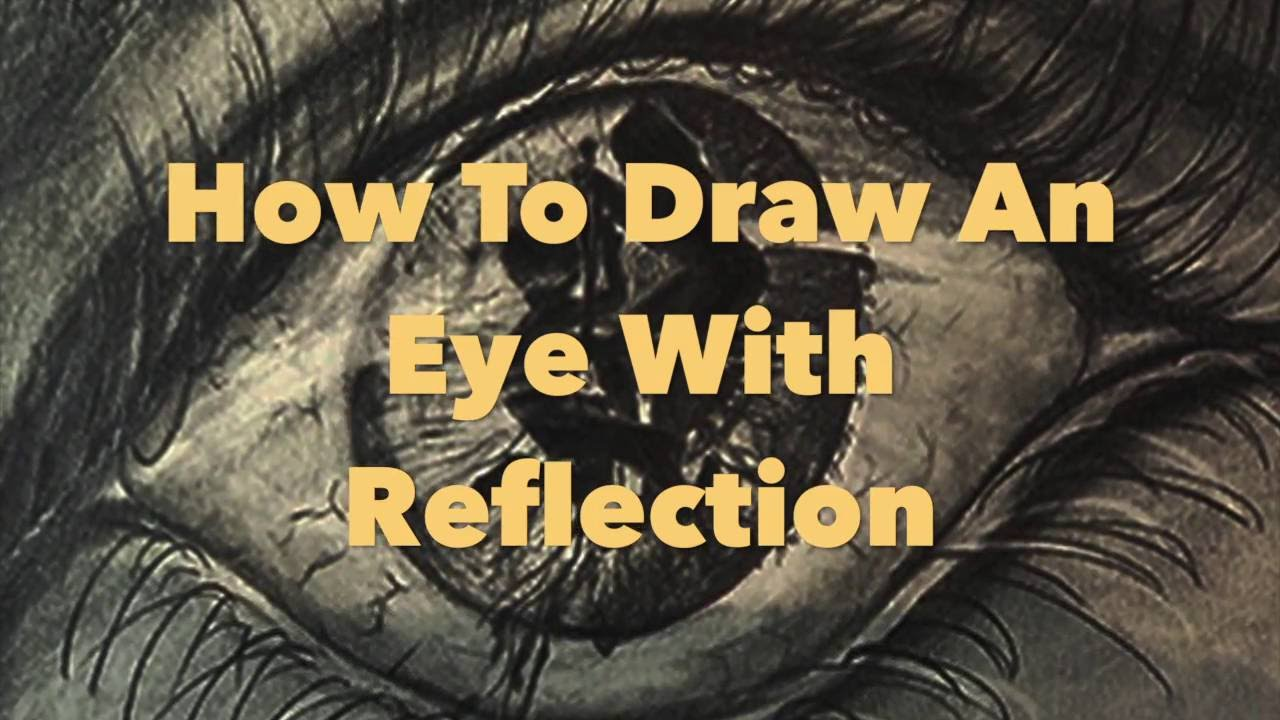 010 how to draw an eye with reflection a youtube