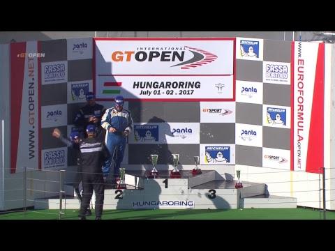 International GTOpen 2017 ROUND 4 HUNGARY - Hungaroring Race 1 ENGLISH