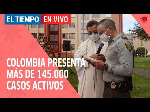 Coronavirus en Colombia: Este es el informe diario de la pandemia en el país