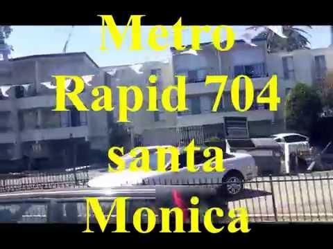 FULL-Santa Monica, California Public Bus Tour -
