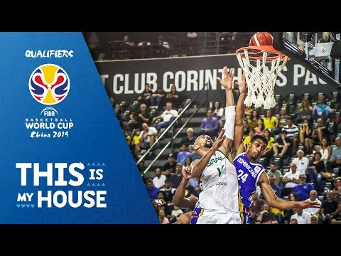 Brazil v Dominican Republic - Full Game - FIBA Basketball World Cup 2019 - Americas Qualifiers