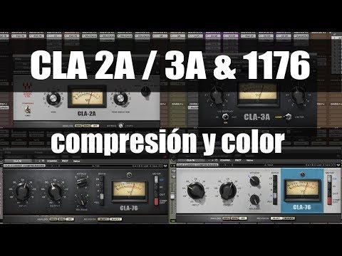 Cómo utilizar los compresores CLA 2A - 3A - 1176 ProduceAudio.net